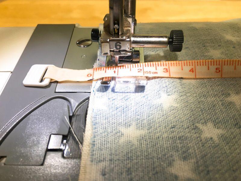縫い代1cm